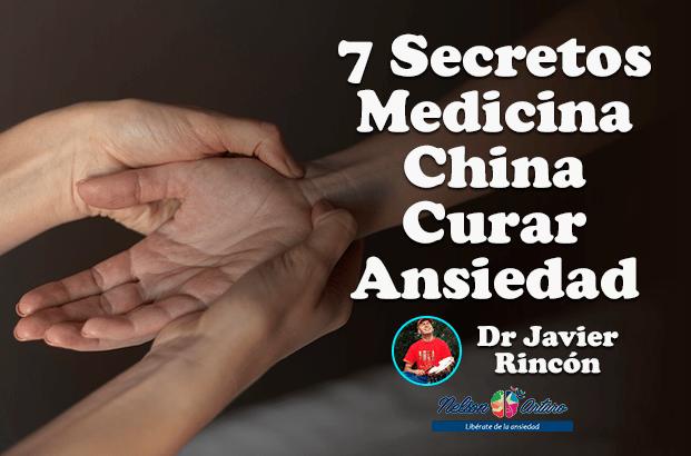 7 Secretos Medicina China Curar Ansiedad