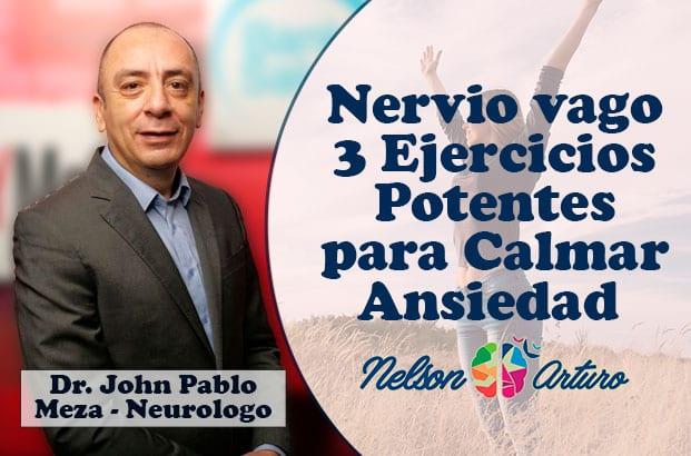 Nervio vago 3 ejercicios potentes para estimularlo y calmar la ansiedad con el neurologo Pablo Meza